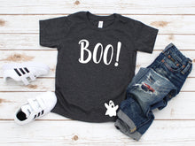 Load image into Gallery viewer, Boo with Ghost Halloween Toddler T-Shirt