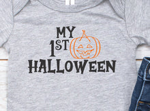 Load image into Gallery viewer, My First Halloween Infant Bodysuit or Toddler T-Shirt