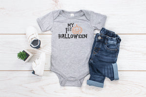 My First Halloween Infant Bodysuit or Toddler T-Shirt