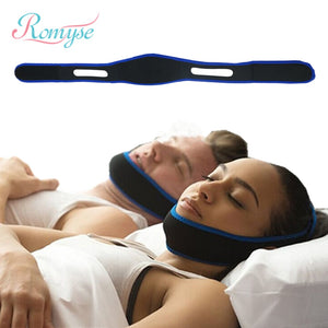 Anti-Snoring Headband Chin Strap Health Care Night Guard Wellness