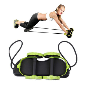 Sport Core Double AB Roller Wheel Fitness Abdominal Exercises Equipment