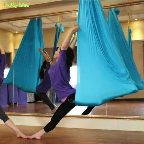 Yoga Hammock Set Swing 20 Colors