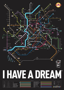 I HAVE A DREAM - Poster Edizione Revolution