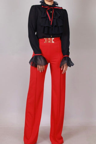 Upgrade High Waist Trousers