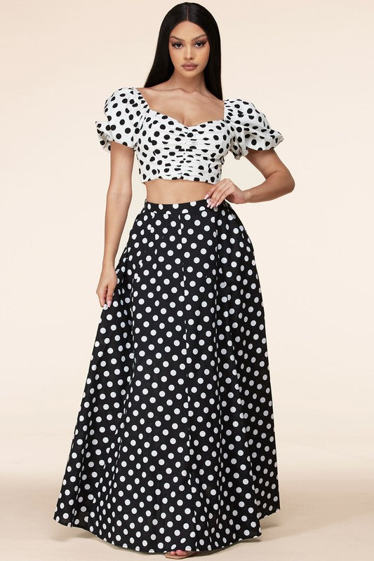 Polka Dot Princess Set
