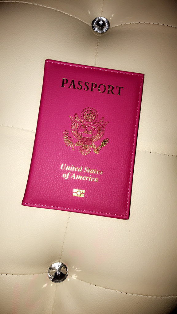 Passport Diva Cover (Fuchsia)