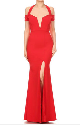 Red Sizzle Gala Dress