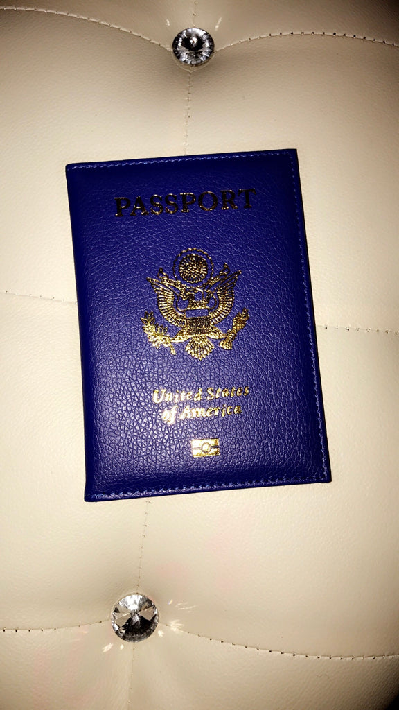 Passport Diva Cover (Royal Blue)