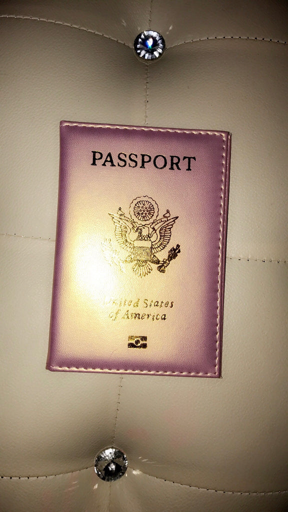 Passport Diva Cover (Rose Gold)