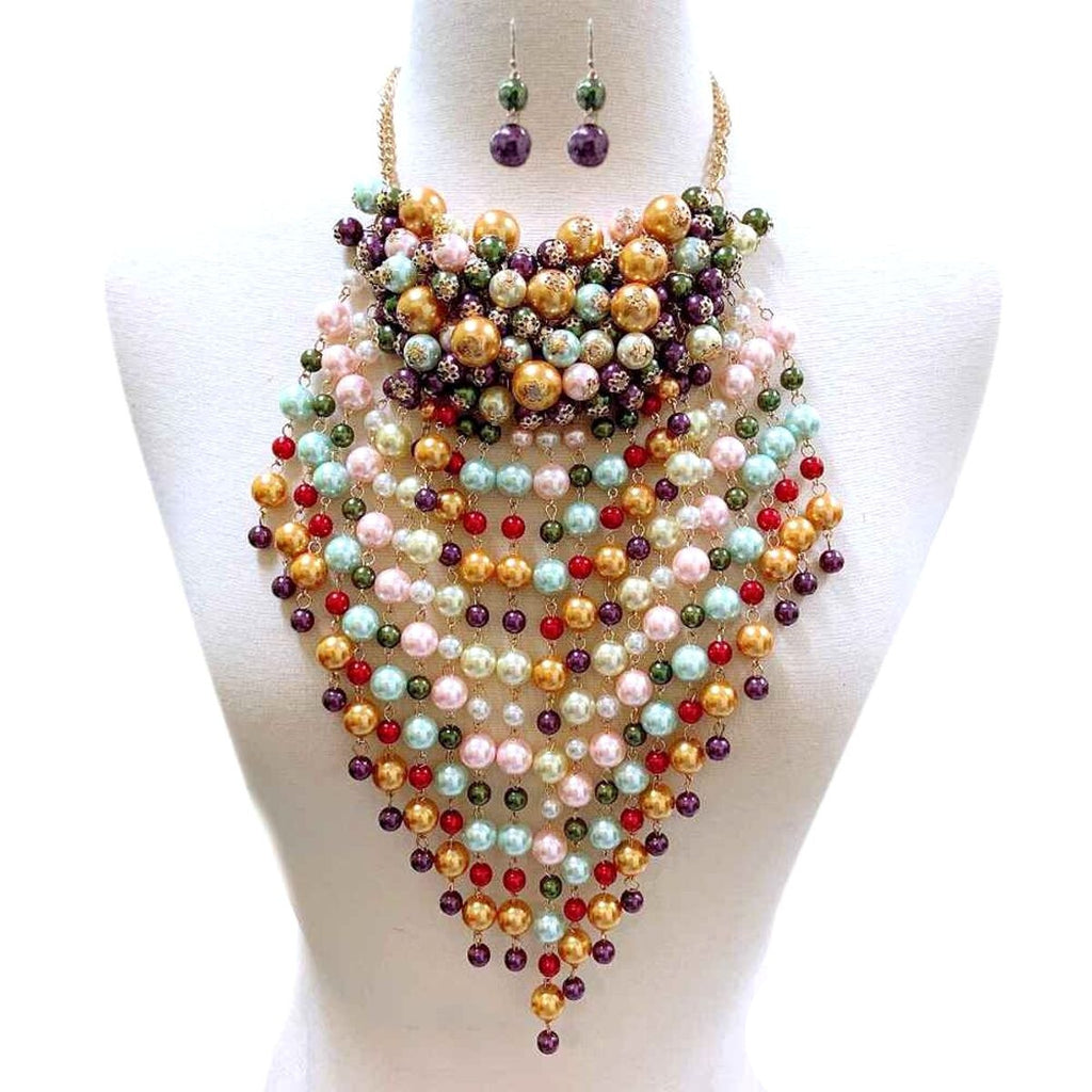 Desire Pearl Necklace Set