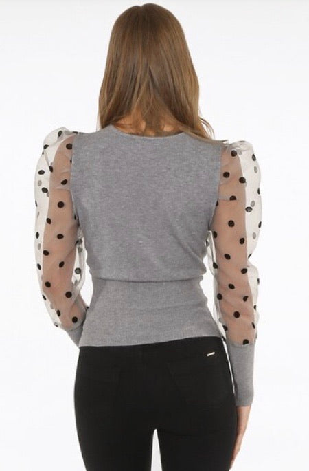 Polka Dot Surprise Blouse