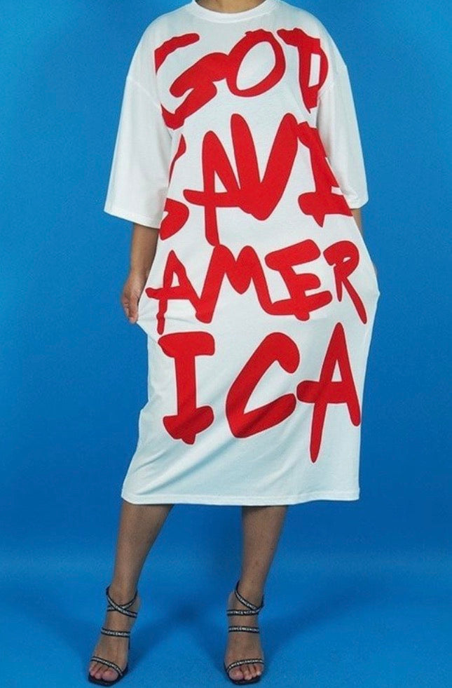 God Save America Dress