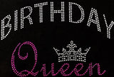 Birthday Queen Bling Tee