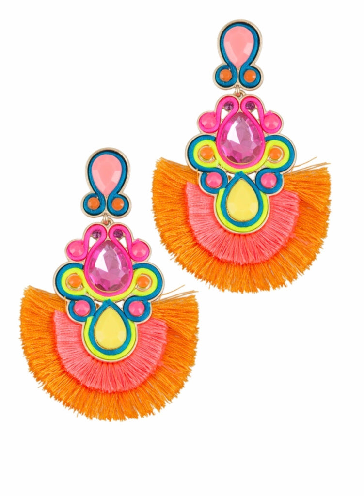 Fans of Paradise Earrings