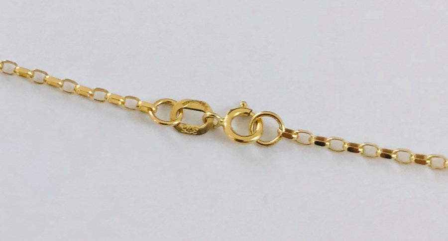 9ct Yellow Gold Round 18