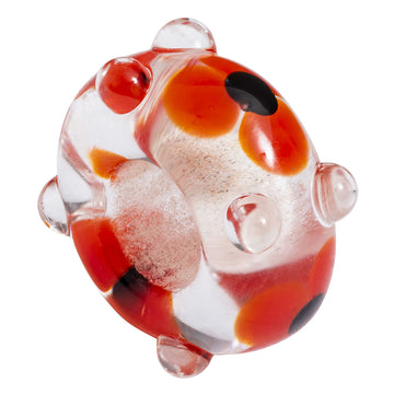 Poppy Glass Charm
