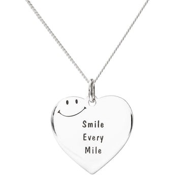 Smile Every Mile Pendant
