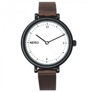 Zara Watch Black and Mocha