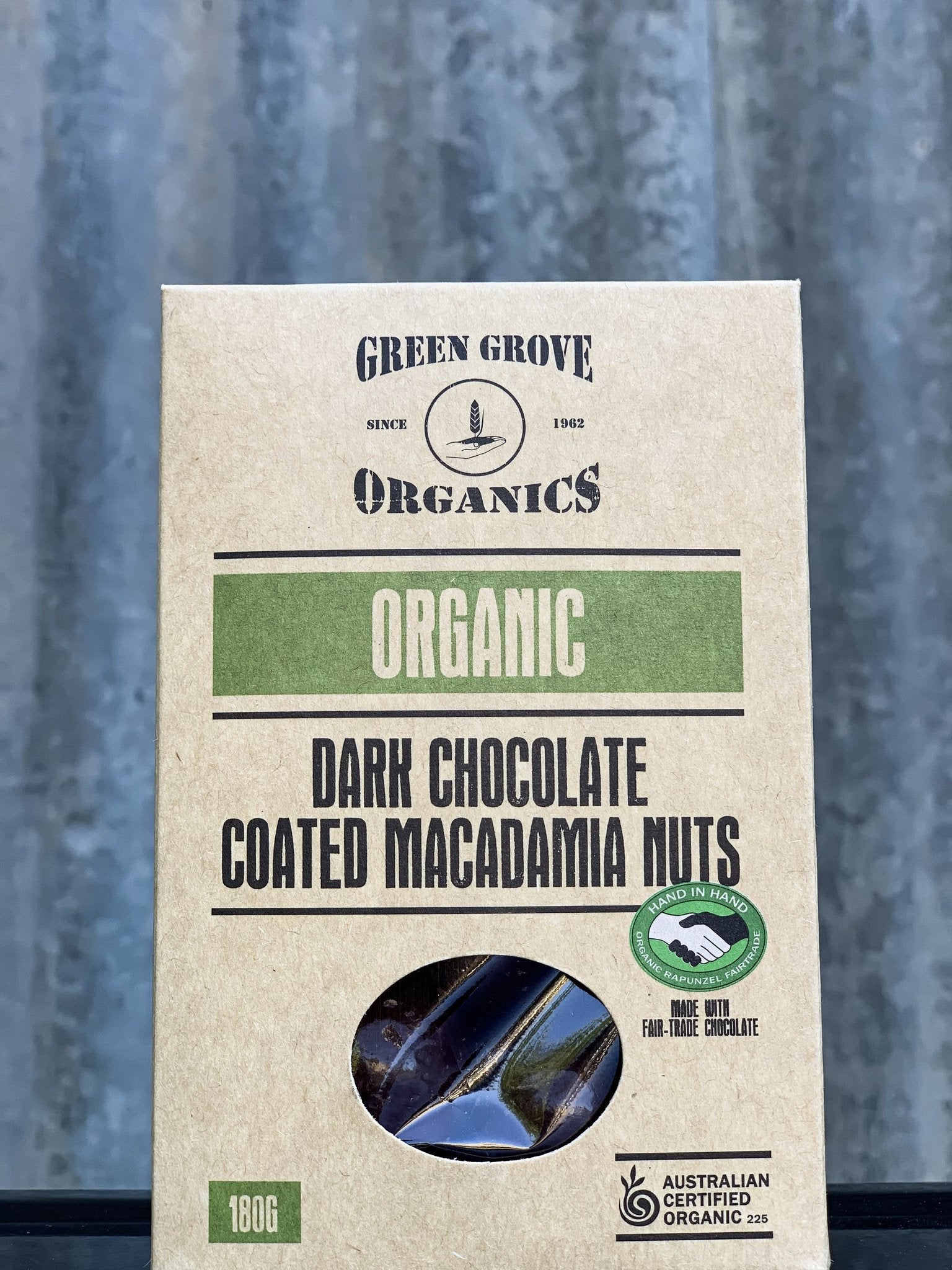 Dark-Chocolate Coated Macadamias 180g