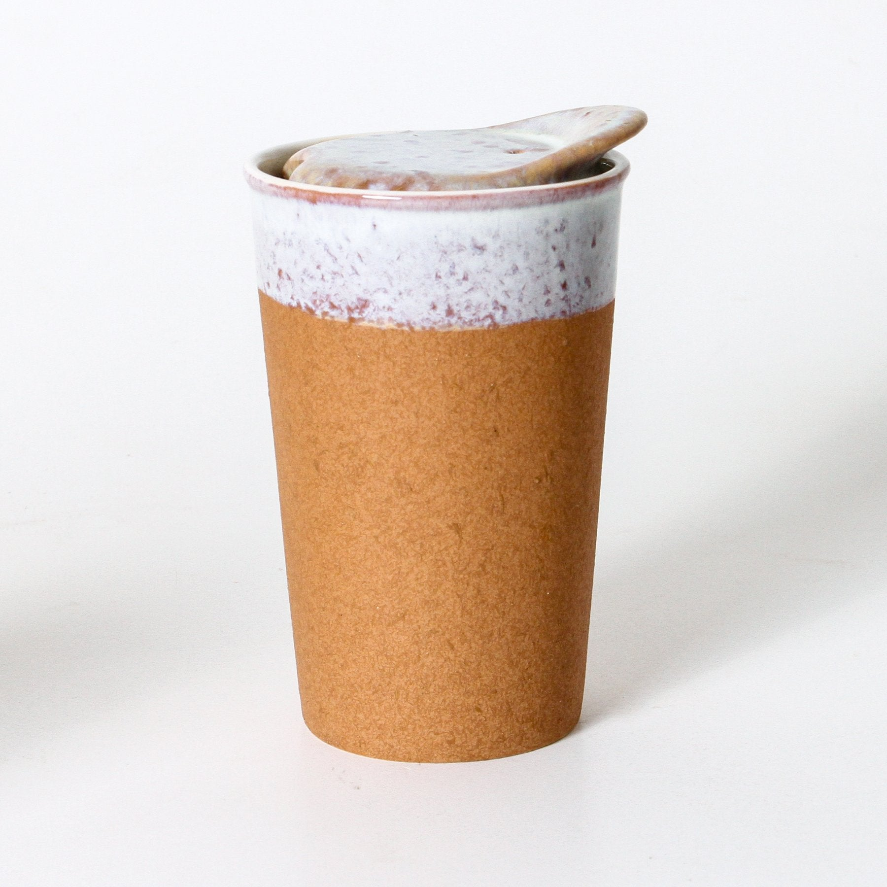 Its a Keeper Ceramic Cup - Tall - Raw Earth