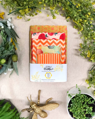 Reusable Food Wraps - Essentials Pack