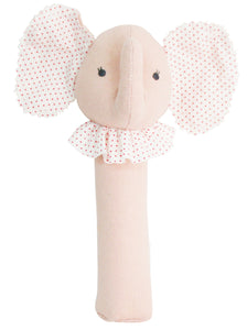 Baby Elephant Squeaker Pink