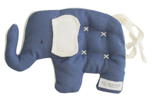 Toby Elephant Comforter Toy 20cm Chambray