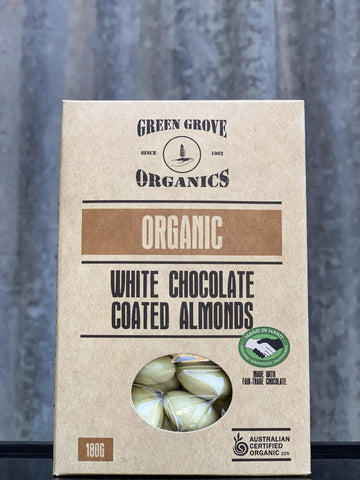 White-Chocolate Coated Almonds 180g