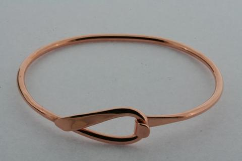 Loop closer bangle - copper