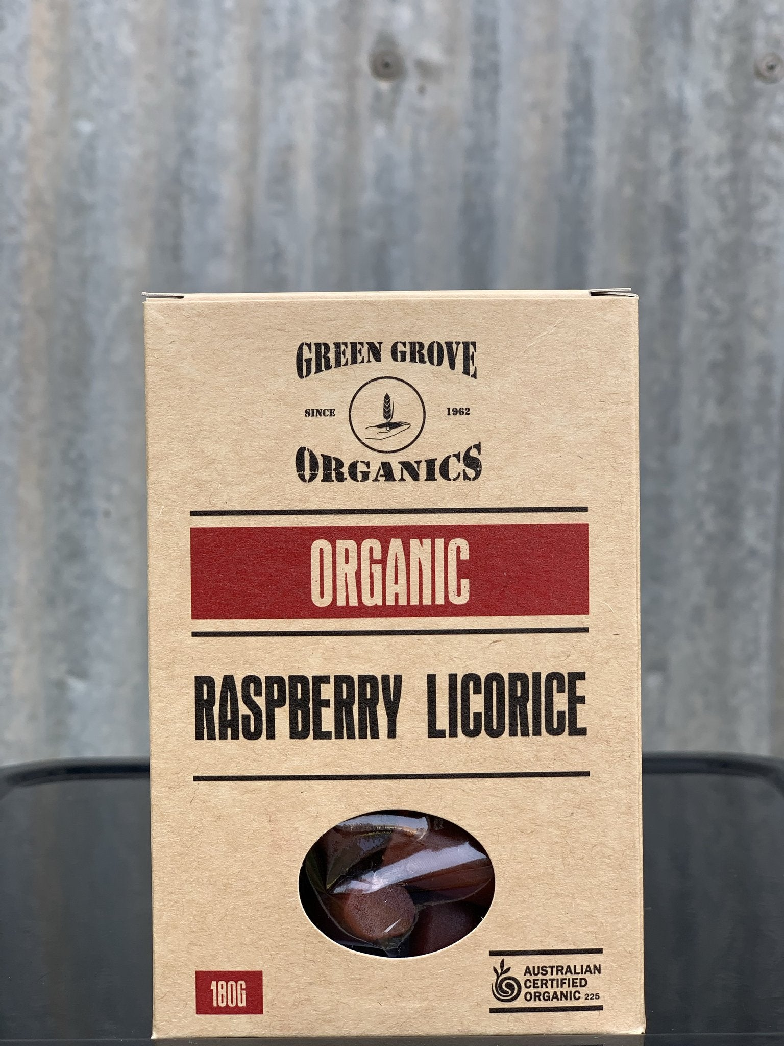 Raspberry Licorice 180g