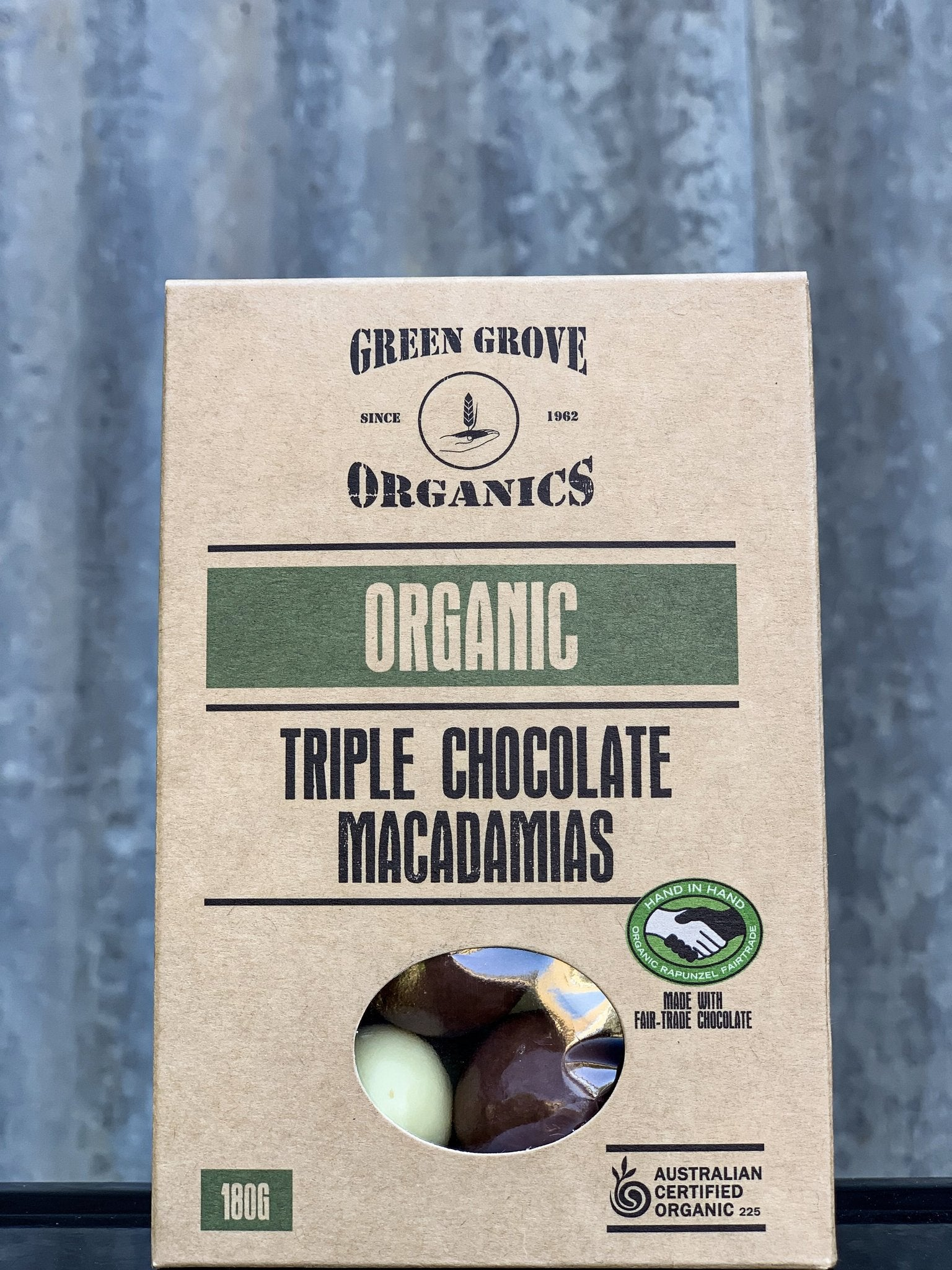 Triple Chocolate Coated Macadamias 180g