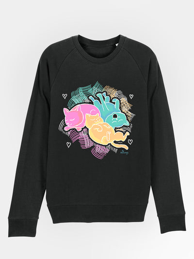 """Color Cats"" Pullover"