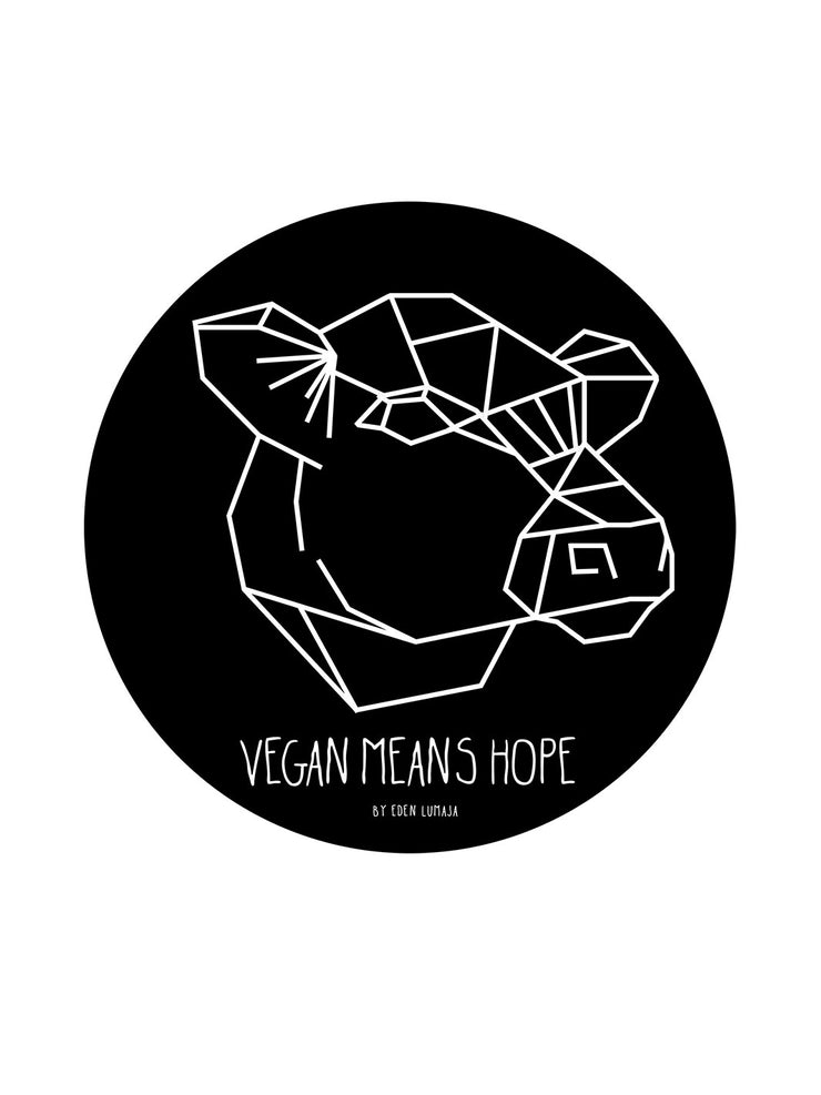 Vegan means Hope