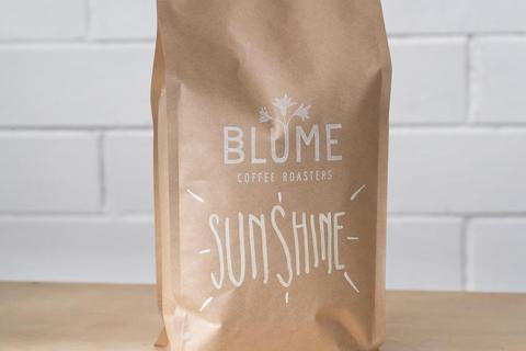 Blume coffee sunshine espresso