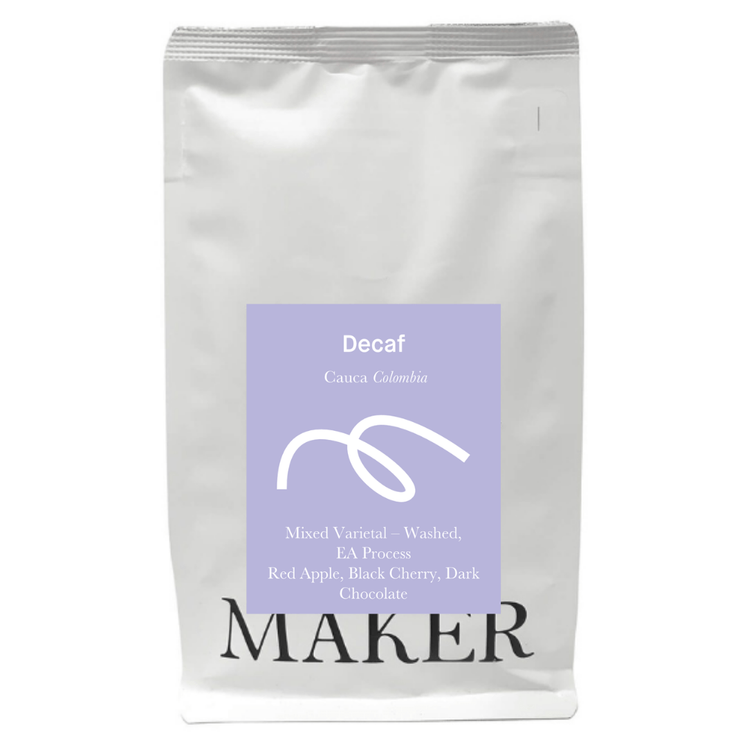 Maker Coffee Decaf Decaf - Colombia