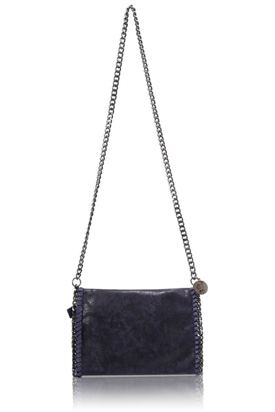 Faux Leather Cross Body Bag - HB26