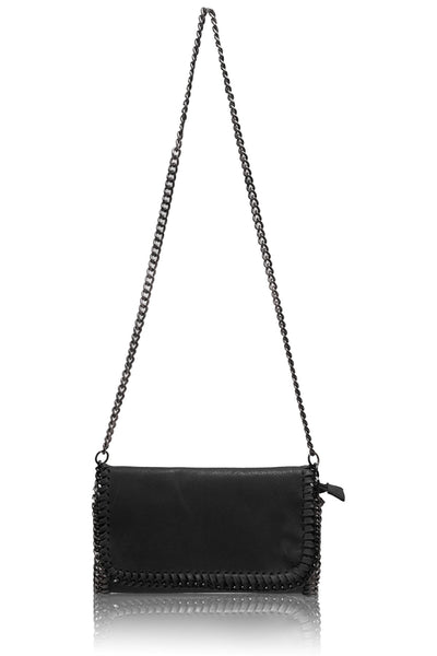 Faux Leather Cross Body Bag - HB28