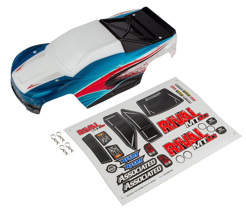 Rival MT10 Red & Blue Body - Eatons Rc