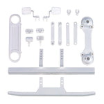 CR12 Toyota FJ45 Bumpers and Body Accessories, White