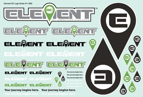Element Decal Sheet
