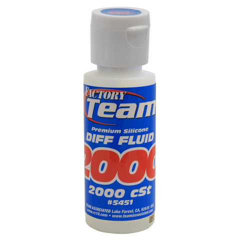 Silicone Diff Fluid 2000CST 2oz