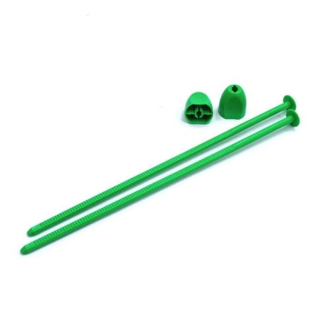 Zip Stix / Green / 4pcs