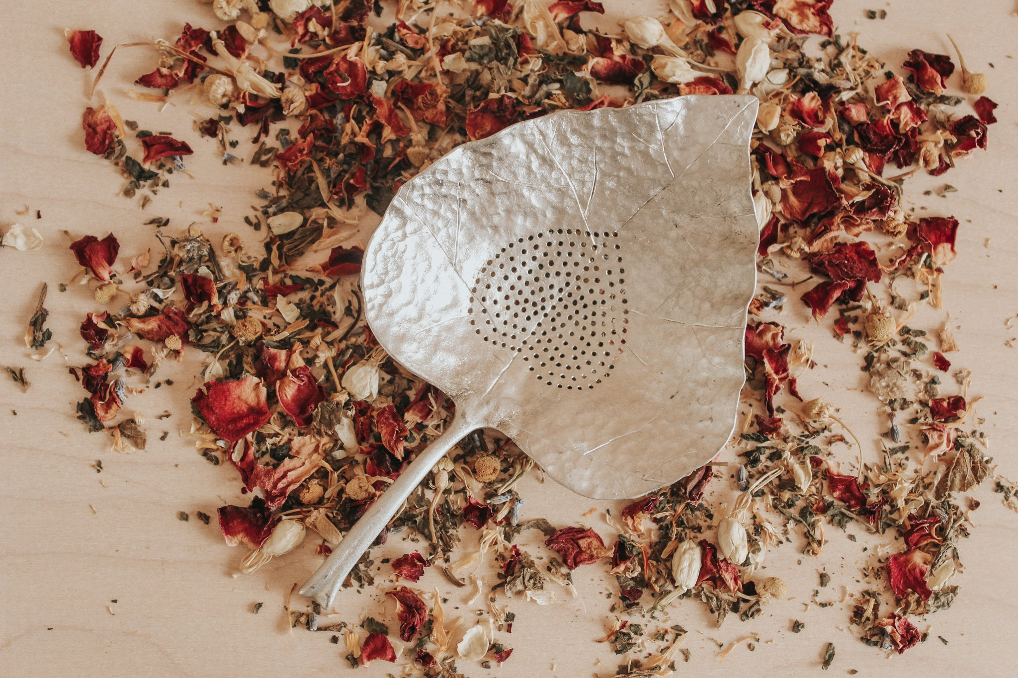 Autumn Leaf Strainer