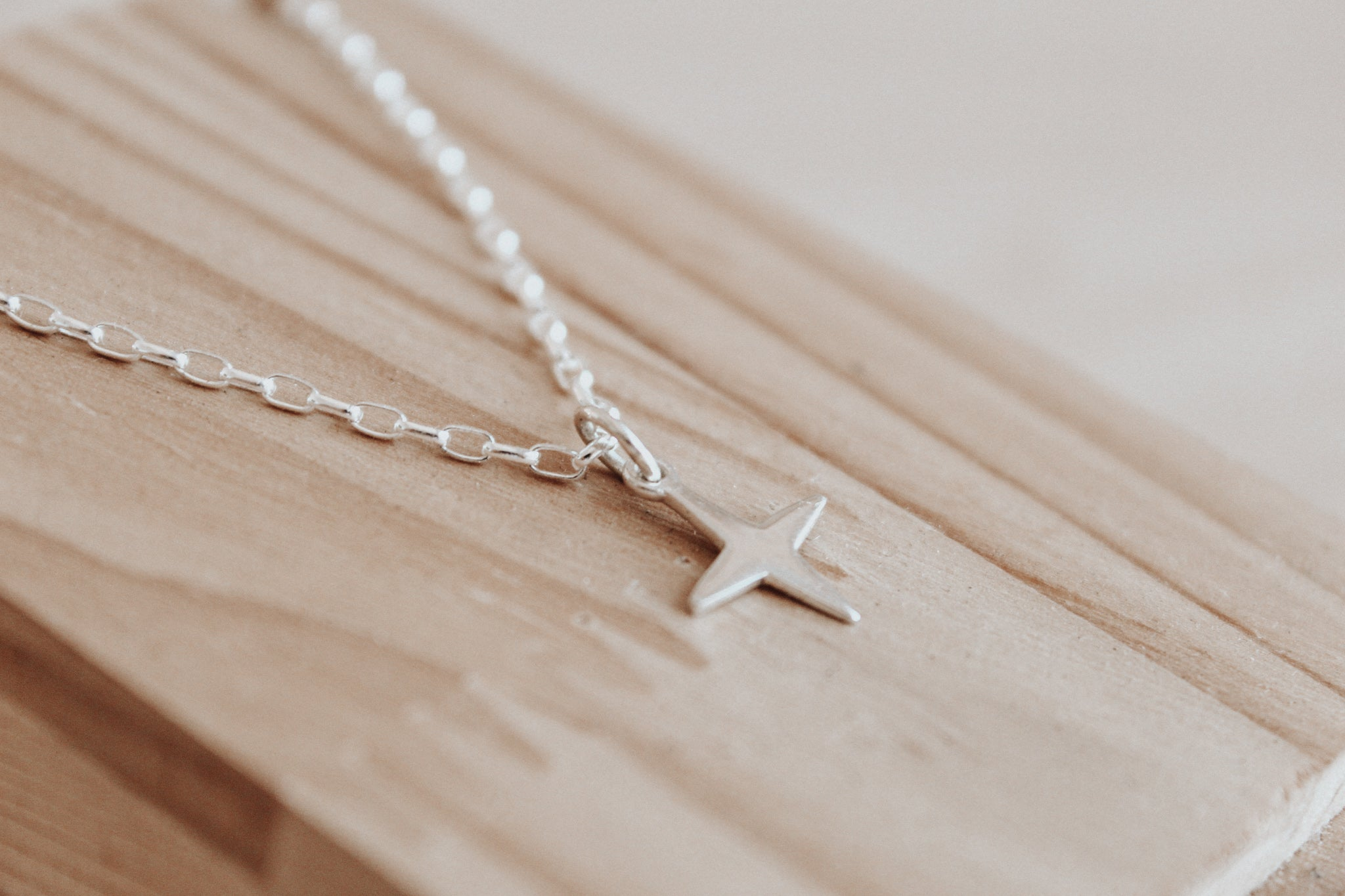 Southern Cross Silver Necklace