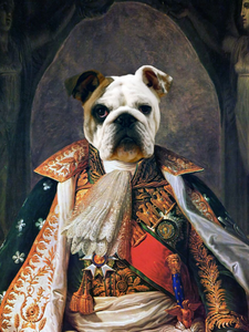 Dashing Duke - Main Posh Pet Portrait