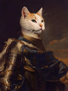 Valiant Knight - Main Posh Pet Portrait