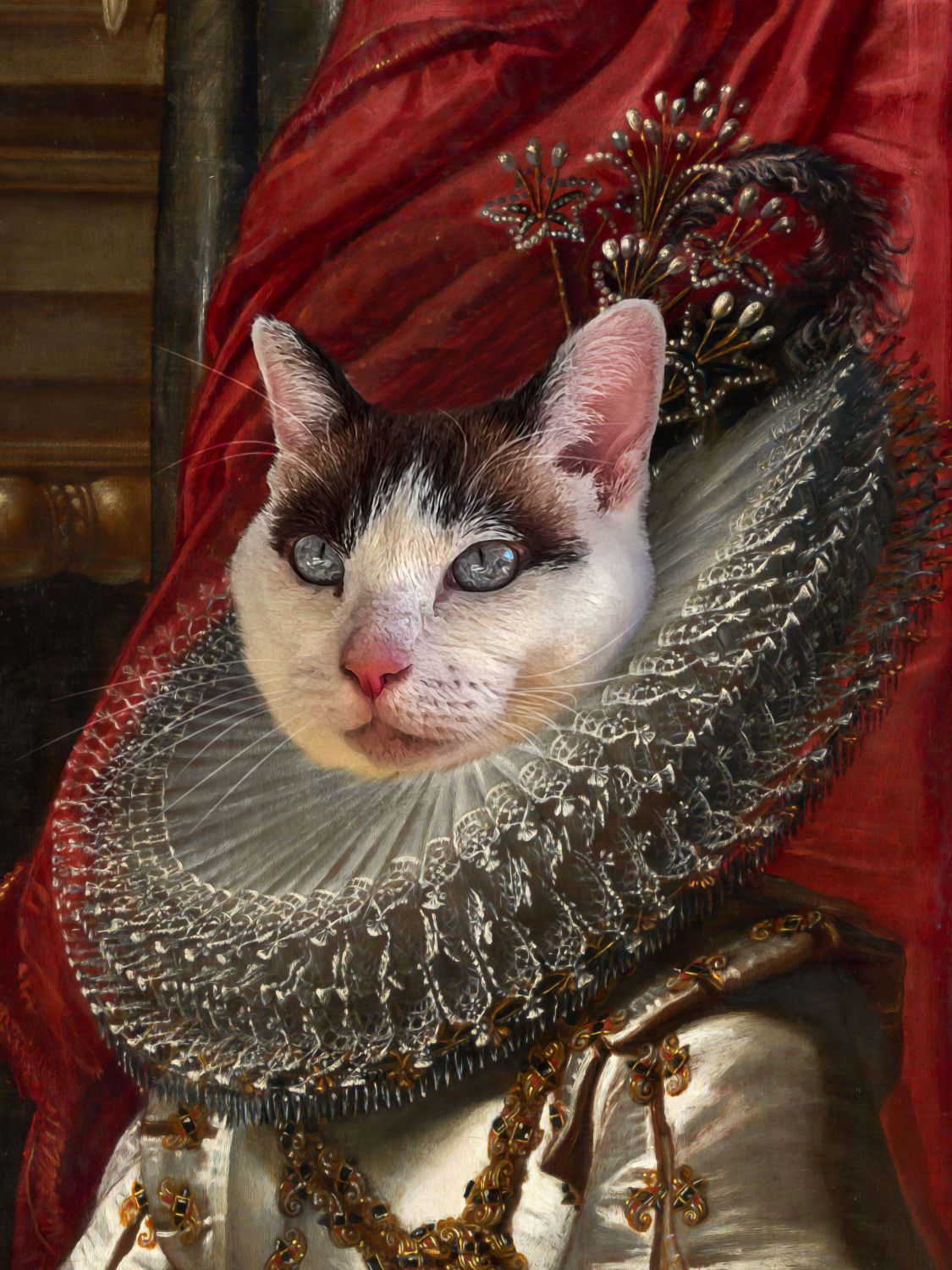 Fair Princess - Main Posh Pet Portrait