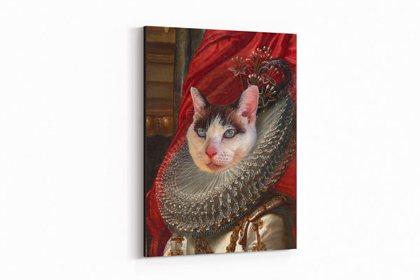 Fair Princess - On Wall Posh Pet Portrait