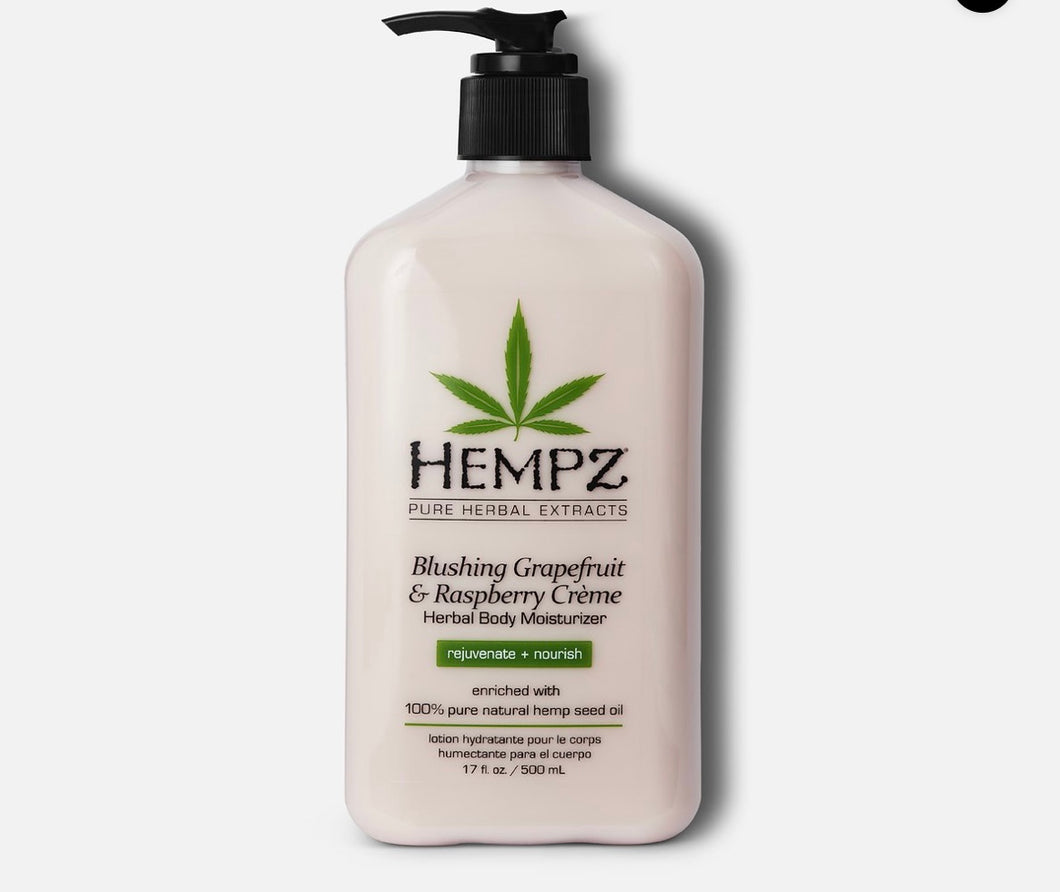 Hempz Raspberry Lotion 17oz
