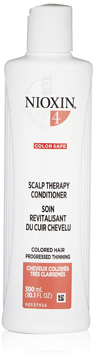 Nioxin System 4 Scalp Therapy Conditioner for Color Treated Hair with Progressed Thinning